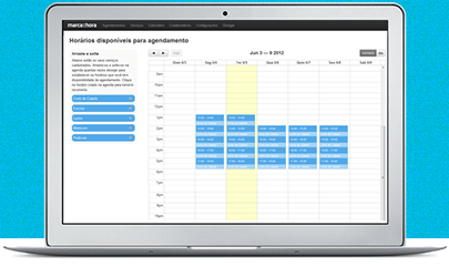 Agenda online grátis para marcar horários de clientes
