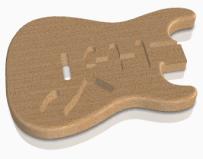 guitarra3d