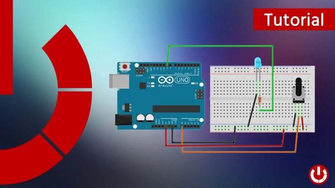 LED e potenziometro con Arduino