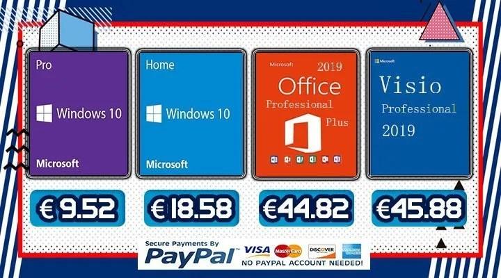Come avere Office, Windows, Giochi e molto altro a prezzi mai visti