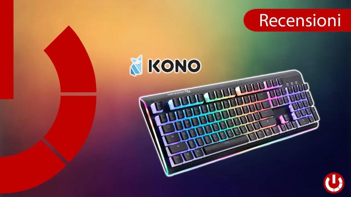 Recensione tastiera meccanica RGB Hexgears Impulse