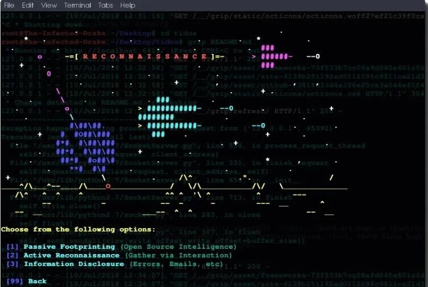 TIDoS-Framework in azione