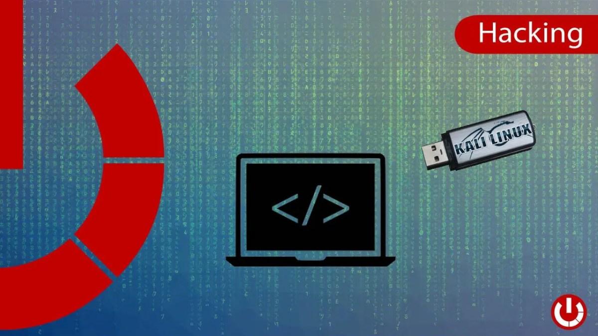 Creare una Live USB per Kali Linux