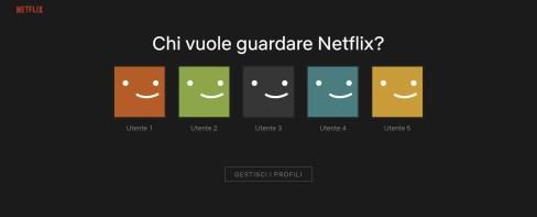 Guardare Netflix gratis in 5 persone