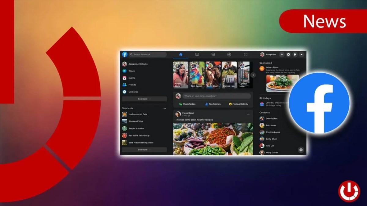 Facebook - La nuova interfaccia grafica