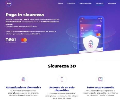 APPaga con YAP il mobile payment