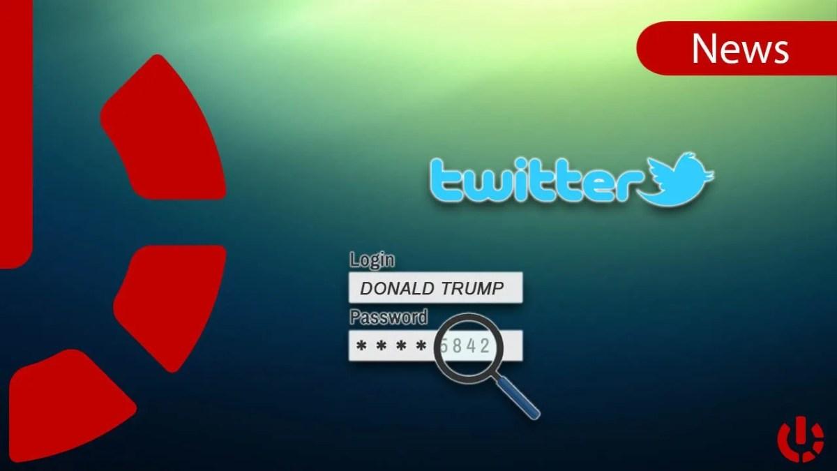 Ricercatore informatico ha indovinato la password dell'account di Trump