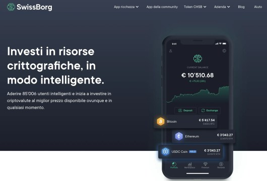 Swissborg: Regala Gratta e Vinci in Bitcoin!