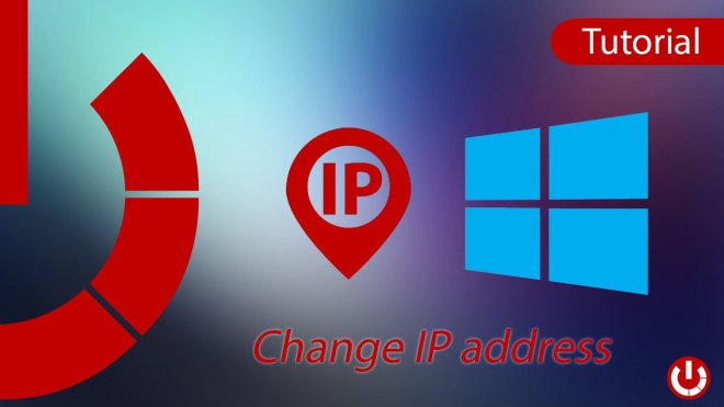 How to change IP address on Windows