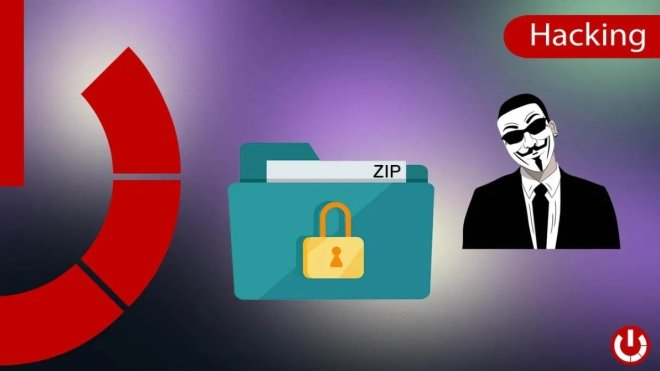 File technique to find the password of a free protected zip
