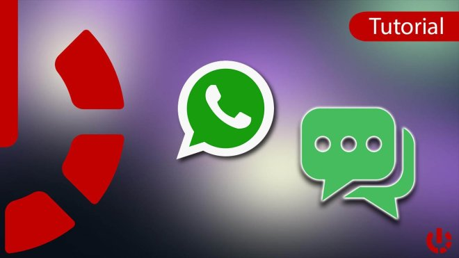 How to write to an unsaved number on Whatsapp