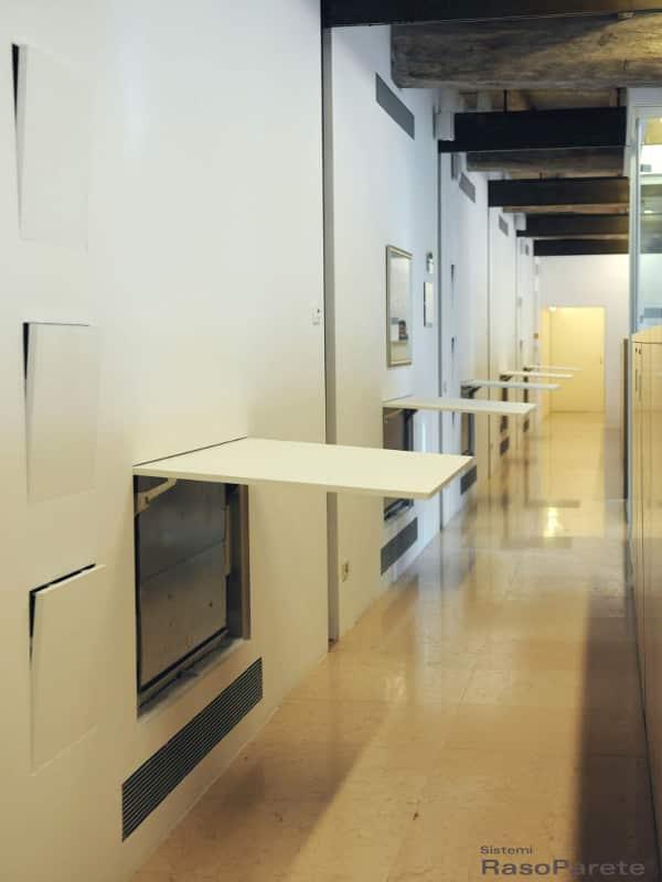Chiusure nicchie filo muro Sistemi RasoParete  elimina