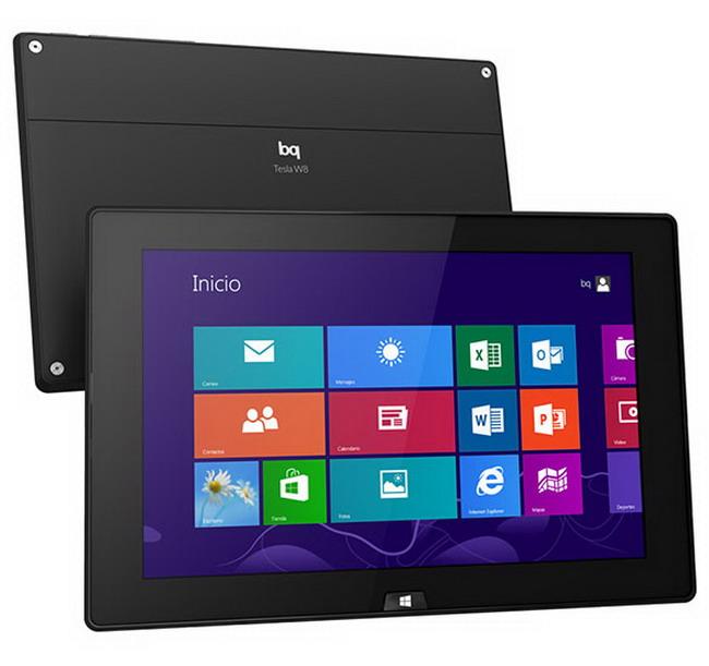 bq tesla w8 Tesla W8, la primera tablet con Windows 8 de BQ