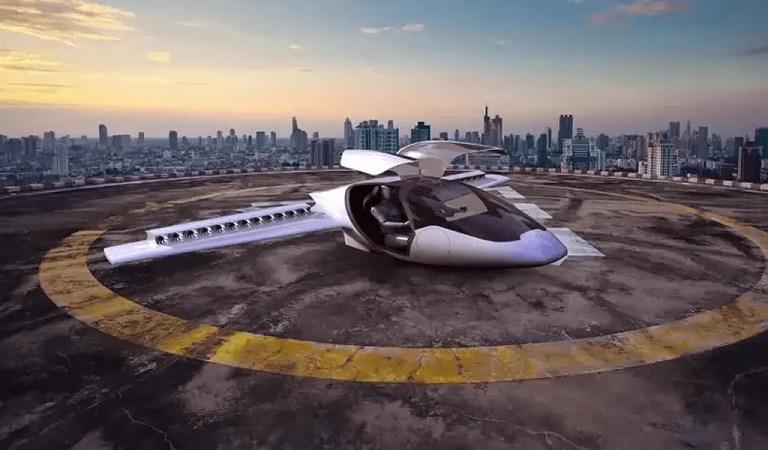 Prototipo del taxi volador Lilium