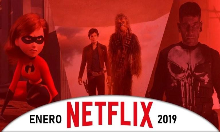 estrenos de Netflix en enero de 2019