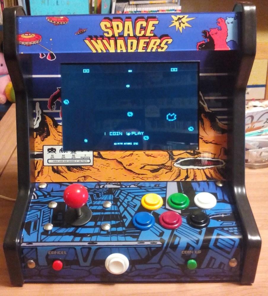 montar máquina arcade retropie