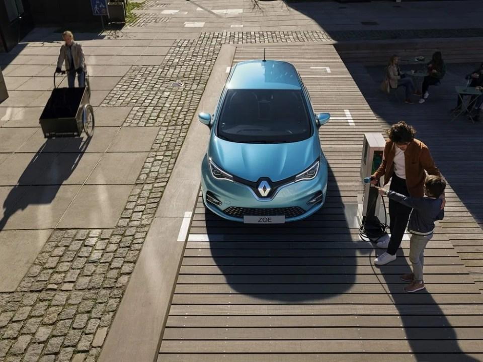 Renault Zoe carga y autonomía