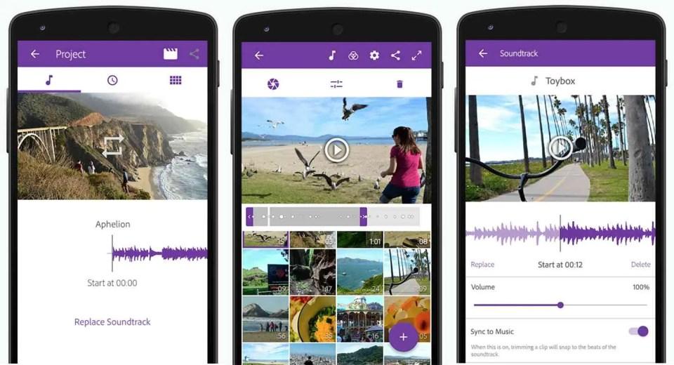 Adobe Premier Clip, app gratuita de Adobe para editar vídeos desde el móvil