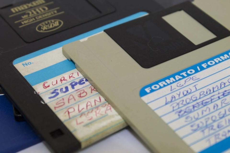 Disquettes, precursores de los discos duros externos