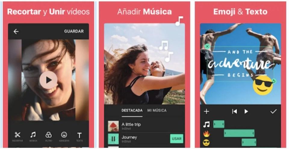 Descargar Inshot para editar videos desde cualquier móvil
