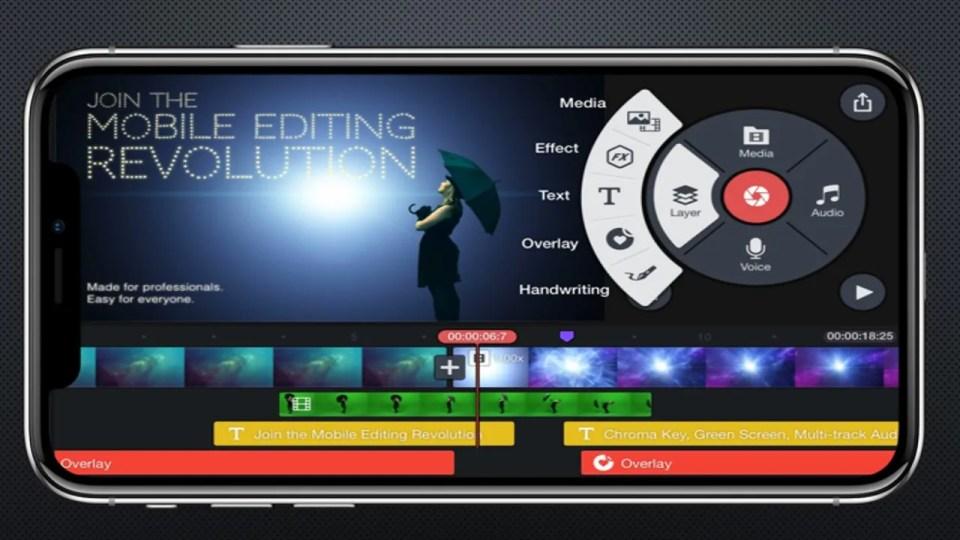 App para editar vídeos profesionales desde el móvil