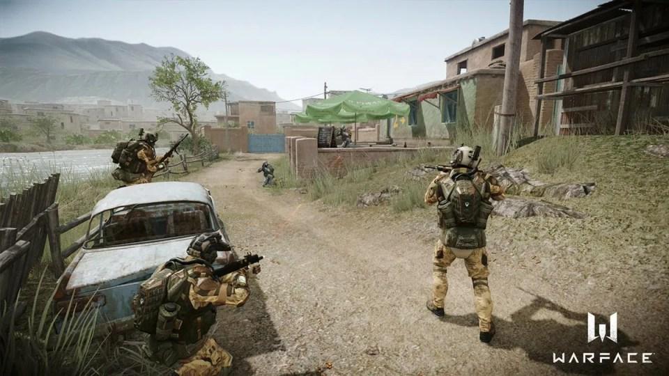 Waterface juego de disparo en primera persona gratis para PC