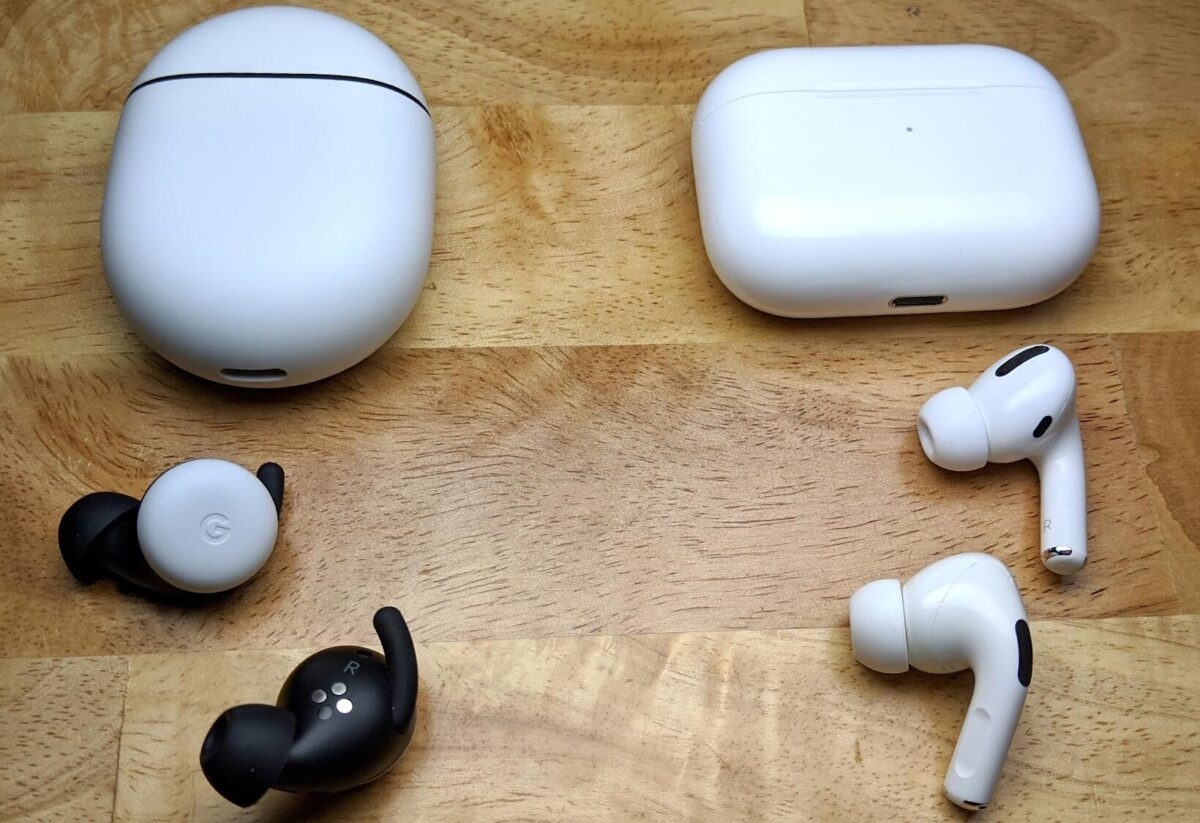 Google Pixel Buds vs Apple Airpods Pro