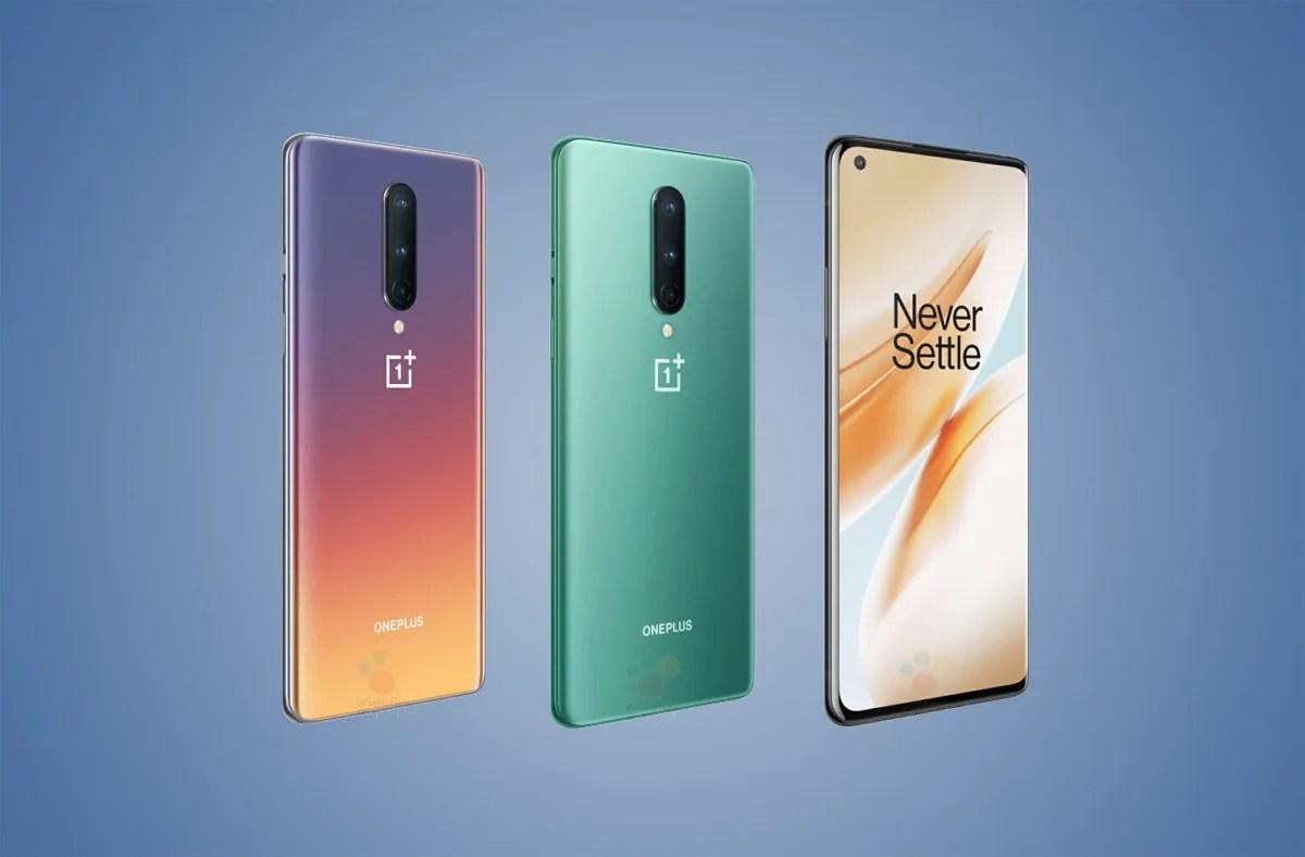 Nuevos móviles Oneplus 8 y 8 Pro