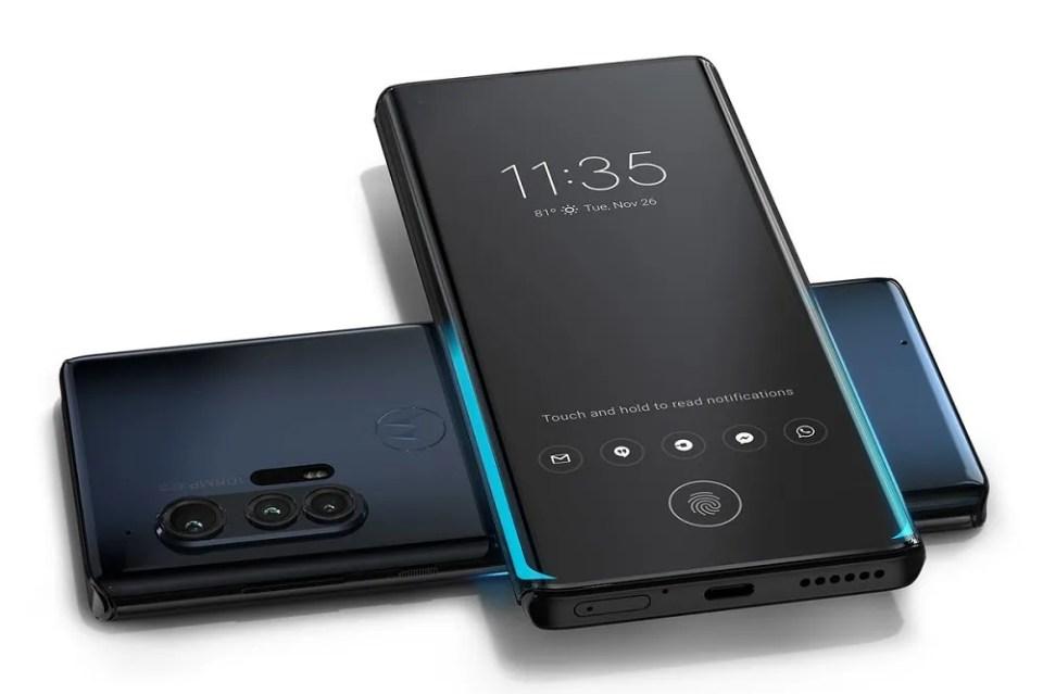 Motorola Edge, gama alta de Motorola