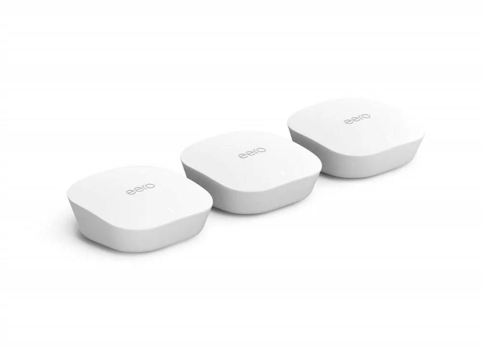 eero de Amazon es uno de los mejores dispositivos de WiFi Mesh