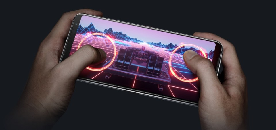 La tasa de refresco del ROG Phone 3 es de 144 Hz