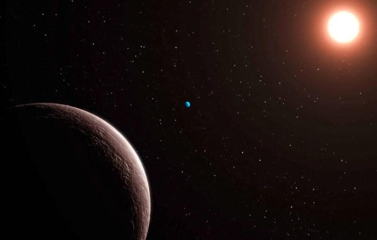 un planeta extremadamente denso