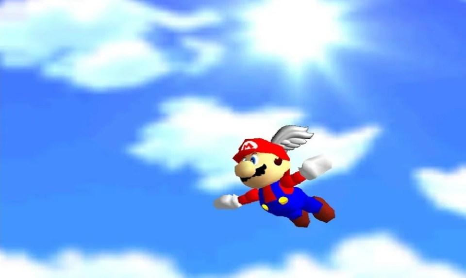 Super Mario 64 fue el primer videojuego en mostrar a Mario Bros en 3D