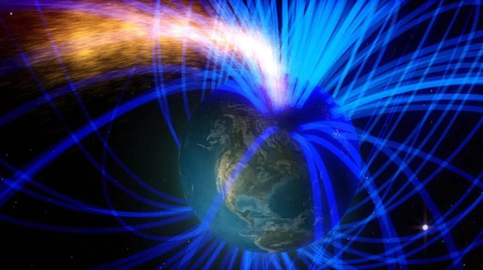 Campo magnético de la Tierra se está debilitando