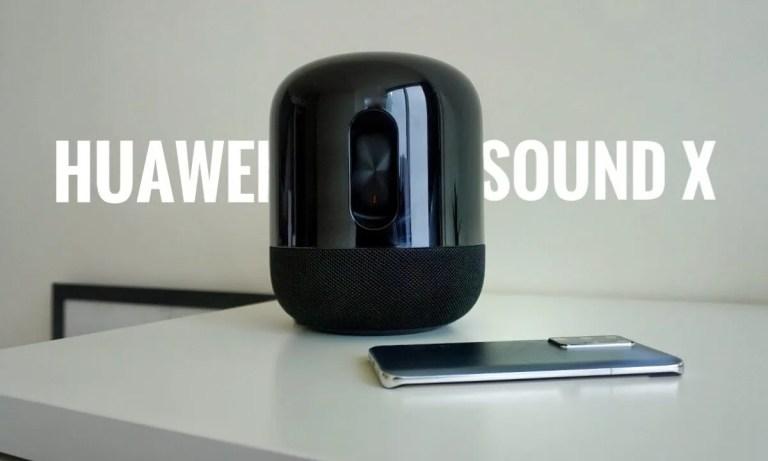 Nuevo Huawei Sound X