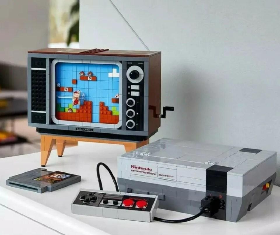 La NES de LEGO es uno de los mejores regalos de construcción tecnológicos que puedes hacer