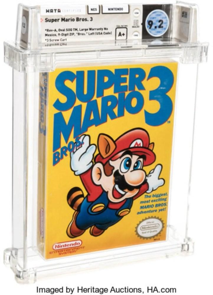 Super Mario Bros. 3 más caro de la historia