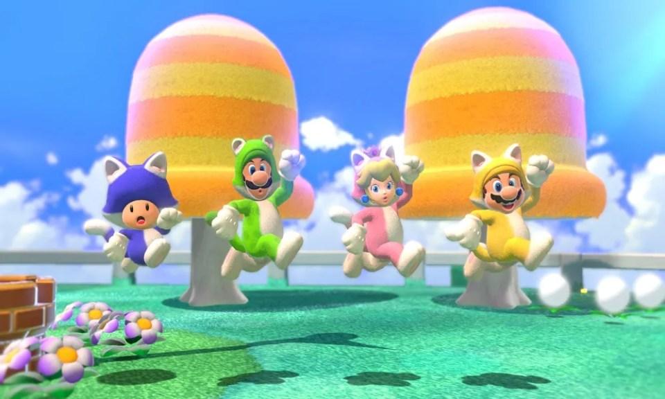 Super Mario 3D World + Bowser's Fury es diversión garantizada