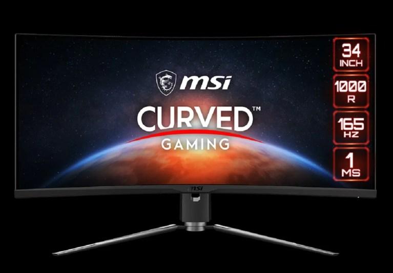 """El monitor MPG ARTYMIS 343CQR de MSI es de 34"""""""