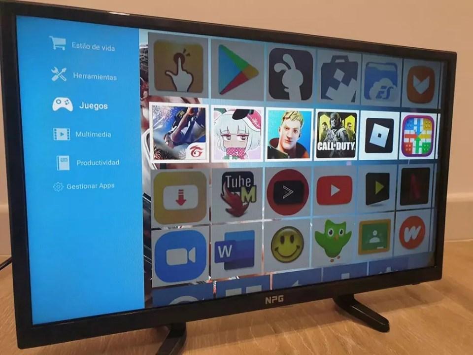 Uptodown es un sitio en el que puedes descargar aplicaciones APK para televisión Android