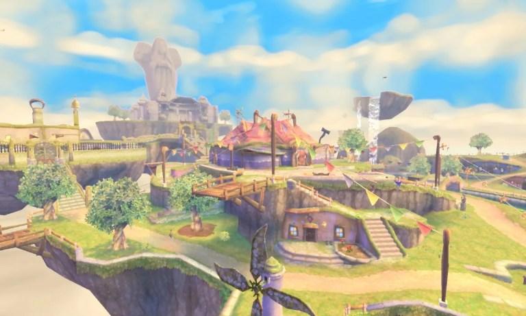 Zelda Skyward Sword fue lanzado originalmente en 2011 para Nintendo Wii