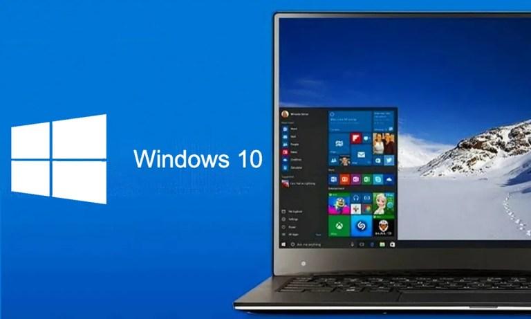 Características del inicio rápido de Windows 10