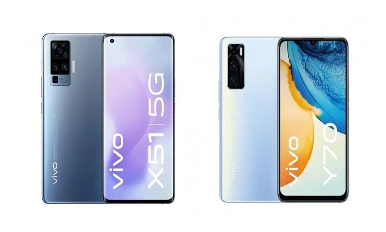 Comparamos el Vivo X51 vs Vivo Y70