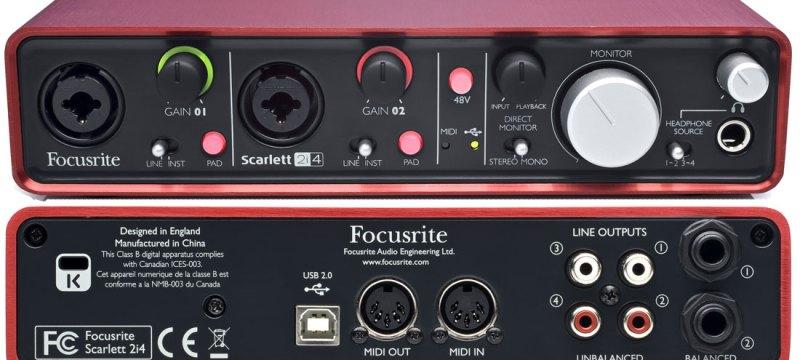 focusrite scarlett_2i4
