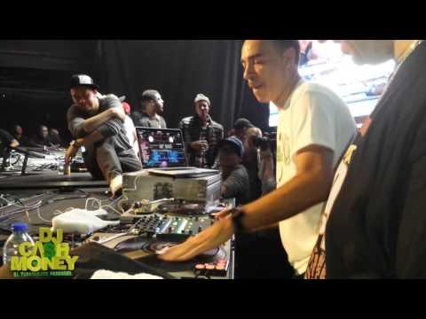 Rutina DJ Cash Money & Kid Capri en Toronto