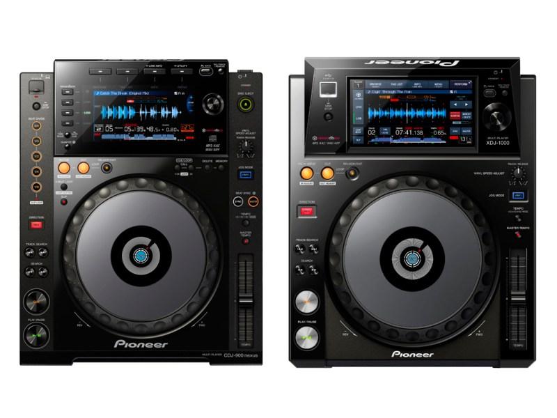 Pioneer-CDJ-900Nexus-vs-Pioneer-XDJ-1000