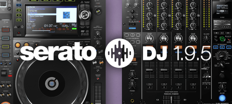 Serato DJ 1.9.5 ya esta disponible