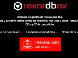 Nueva actualizacion Rekordbox 4.3