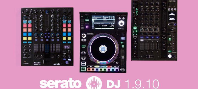 Serato DJ 1.9.10 ya esta disponible