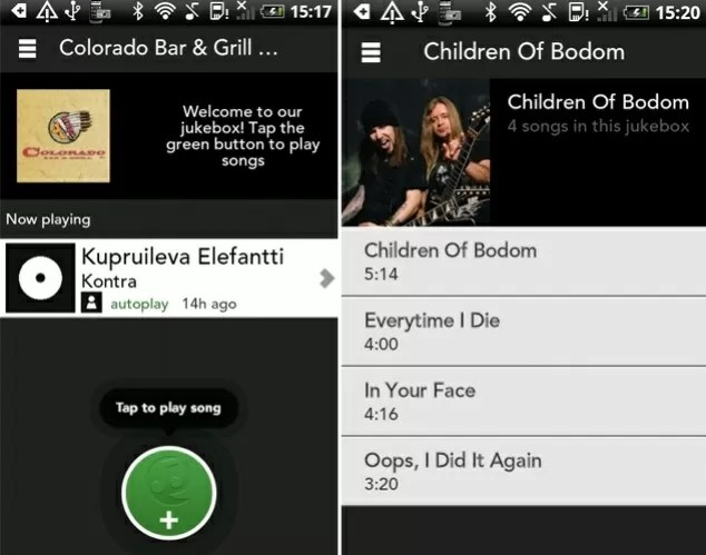 PlayMySong app